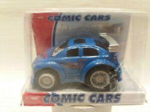 Schönes Kinderspielzeugauto blaues Auto Flitzer  DICKIE - Comic Cars
