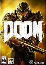 DOOM PC STEAM GAME Digital Download Code (no disc) BRAND NEW FULL GAME