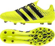 adidas Ace 16.1 FG Leder Nocken Fussballschuh S79684 Solar Yellow/Core Black