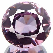 1.21 ct Natural Round-cut TopFire Lilac-Purple VVS/IF Spinel (Sri Lanka)