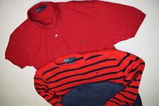 3x polo ralph lauren jersey de punto Sweater Sweat camisa merino lana vintage L