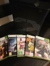 Xbox 360 250 Gb Console + 8 Games.