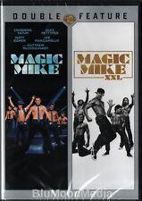 Magic Mike 1 & 2 DVD Double Feature XXL Channing Tatum Joe Manganello Brand NEW