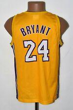 NBA LOS ANGELES LAKERS BASKETBALL SHIRT #24 BRYANT CHAMPION SIZE XL KIDS