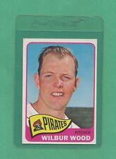 1965 Topps Pittsburgh Pirates Wilbur Wood # 478 NM-MT