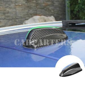 For Volvo S90 V90 XC90 Carbon Fiber Auto Roof Shark Fin Antenna Cover 2016-2020