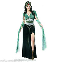 SW Ladies Costume Fancy Dress Madam Medusa Serpentine Greek God Size 8 10 12 14