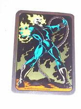 1992 Ghost Rider Marvel Vending Machine Non-Prism Foil Sticker! Rare!