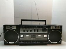 Sanyo Vintage Boombox Am/Fm Stereo Double Cassette Recorder M W170A