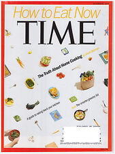 TIME Magazine October 20, 2014 How to Eat Now, Walking Dead, Ferguson, ISIS