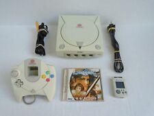 Sega Dreamcast Console Bundle Fully Tested Soulcalibur Cords Controller VMU