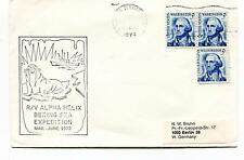 1972 R/V Alpha Helix Bering Sea Expedition Polar Antarctic Cover