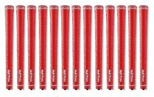 Golf Pride Tour Wrap 2G Red Standard 60R Grips *Genuine* 13 Pcs set