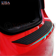 1x Car Trunk SUV Sill Plate Bumper Guard Protector Rubber Pad Cover Trim Cover