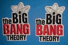 2 Lot  Big Bang Theory TV Series Crew Jacket Hat Hoodie Backpack DIY Patch 046W