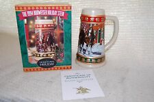 Anheuser Busch Budweiser 1994 Clydesdale Hometown Holiday Beer Stein Mug