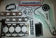 BMW MINI COOPER-S & JCW 1.6 PETROL 2007-ON HEAD GASKET SET & TIMING CHAIN KIT