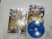 CABELA'S BIG GAME HUNTER 2008 Wii Complete CIB FREE FAST SHIPPING