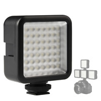 Ulanzi Ultra Bright LED Video Light - LED 49 Dimmable High Power Panel Video Lig