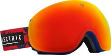 NEW Electric EG3 Blue Fronds Red Mirror mens snowboard goggles +free lens Rt$220