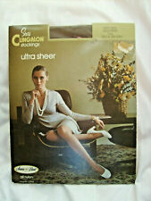 Vintage Sears Cling'alon Ultra Sheer Seemless Stockings size A Tall