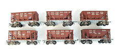 ROUNDHOUSE VINTAGE SHORT ORE HOPPERS X 6 VERY GOOD COND UNBOXED HO GAUGE(TC)
