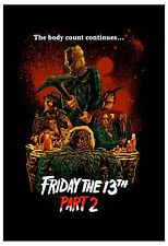 Horror: Friday the 13th  2 Advance Style Movie Poster 1981