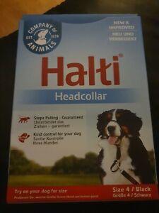 Brand New Halti Headcollar Size 4 Black