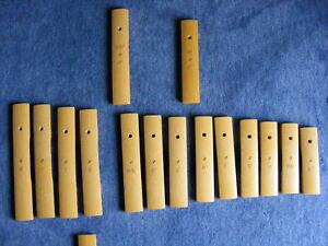 SONOR PALISONO Xylophon Klangplatte Klangstab TAKX D1-C3 einzeln - Glockenspiel