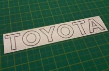 Toyota MR2 MK1 Front bumper Decal Sticker  AW11 4AGE 1985 - 1990 any colour
