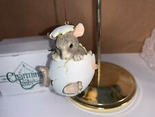 """Charming Tails """"Animals In Eggs� """"Ornament Silvestri Mouse"""