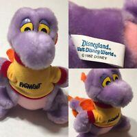 Vintage Disney Figment 1982 Plush 7in Rare Find Dragon Do