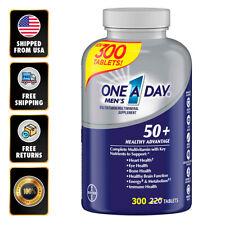 One A Day Mens 50+ Healthy Advantage Multivitamin 300 Tablets No Gluten EXP