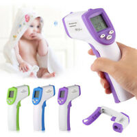Non-contact Body IR Infrarot Digitales Thermometer Instant Reading LCD Anzeig KS