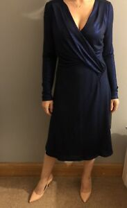 Michaela Louisa Party Cocktail Dress in Navy UK 10/EU 38/US 6 RRP £270