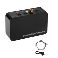 Bluetooth Adapter Kabellos Transmitter Empfänger + Audiokabel für Kopfhörer