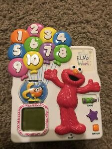 Sesame Street Elmo's World COUNT & POP BALLOON Electronic Learning Game