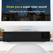 Altoparlante Bluetooth Stereo Senza Fili Soundbar TV Con LED Radio FM Scheda TF