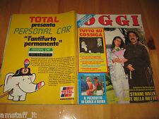 OGGI 1985/28=NINO FRASSICA=HORST TAPPERT=SYLVIE VARTAN=UMBERTO VERONESI=CETONA=