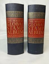 2 Minkus Publications Master Global Stamp Albums Supplements to 1981