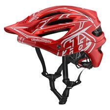 Troy Lee Designs bicicleta de montaña CASCO A2 Mips ; PINSTRIPE 2 Red MD / L