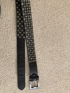 New Gents Leather Studded Belt