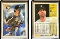 Zane Smith Signed 1994 Fleer #620 Card Pittsburgh Pirates Auto Autograph