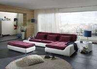 Loungesofa Wohnlandschaft Sofa Couch Ecksofa Eckcouch Plansofa Spike 9 Megapol