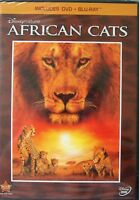 African Cats (Blu-ray/DVD, 2011, 2-Disc Set)
