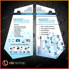 Nano Technology Liquid Glass Screen Protector LG Xiaomi Huawei HTC Smartwatch