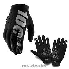 2019 NEW 100% Prozent Brisker schwarz Neopren Winter Handschuhe MTB MX Motocross