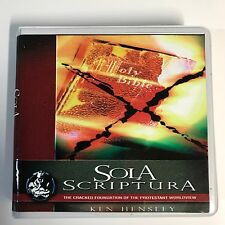 Sola Scriptura 2002 Ken Hensley Audiobook CD Christian Doctrine Religious 6 Disc