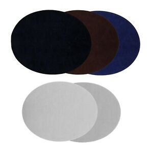Pack of 10 Oval Shape Patches Clothing Accessories for Repairing Elbow Knee