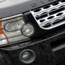 Disco 4 facelift style front grille Land Rover Discovery 3 black silver